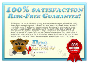 Dog Training Planner